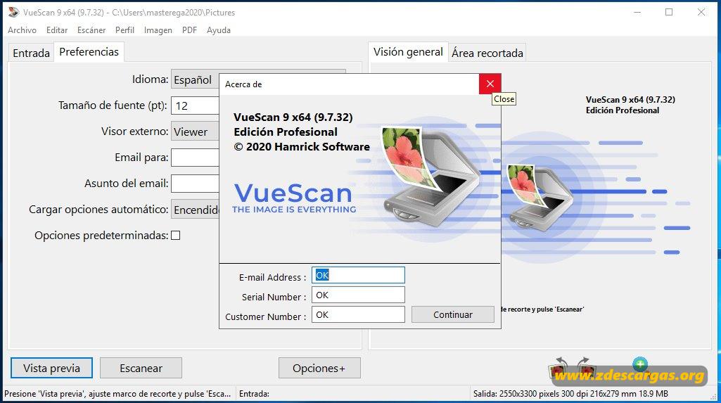 VueScan Pro full español