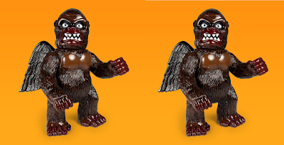 Five Points Festival 2019 Exclusive Wing Kong Dark Destroyer Edition Vinyl Figure by Super7