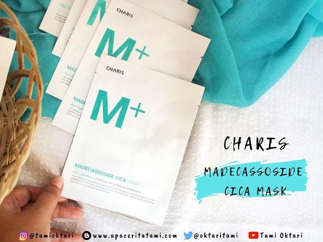 [REVIEW] Charis Madecassoside Cica Mask | Masker Centella Asiatica?