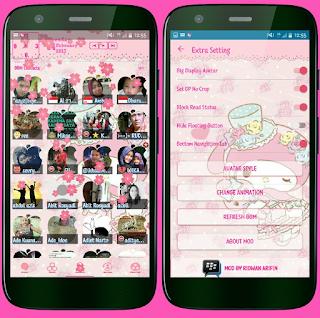 BBM Mod My Melody V3.2.5.12 Apk [Ridwan Arifin]