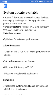 Infinix Note 4 Pro Users: Fix Your OS Issues With The New Version of Android 8.1 Oreo