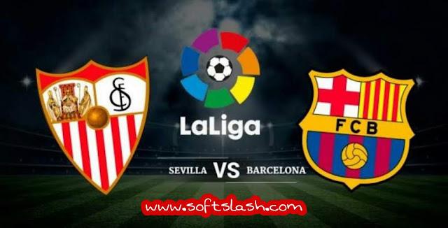 بث مباشر Barcelona vs Sevellia  بدون تقطيع بمختلف الجودات