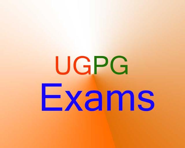 यूजी-पीजी की परीक्षाएं जून में होगी - कोरोना का असर