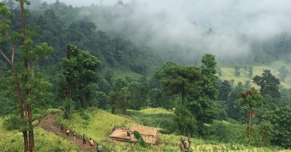 Kongduk Or Jogi Haphong Is The Mountain Of Bandarban Border