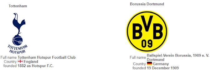 Spurs vs Dortmund