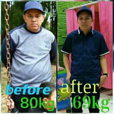 testimoni obat penurun berat badan