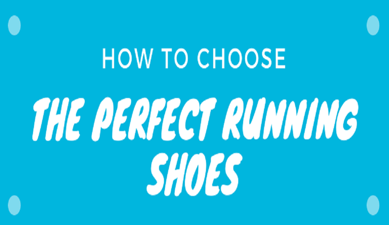"""How to Choose """"The Perfect Running Shoes"""" #infographic"""