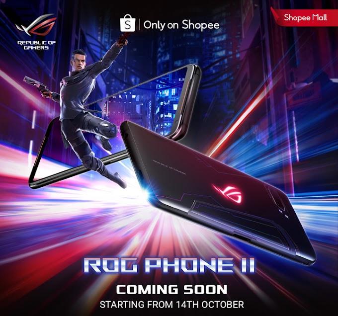 ASUS ROG Phone II Pra-Tempahan Bermula 14 Oktober