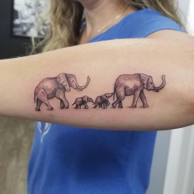 tatuagens para homenagear a família