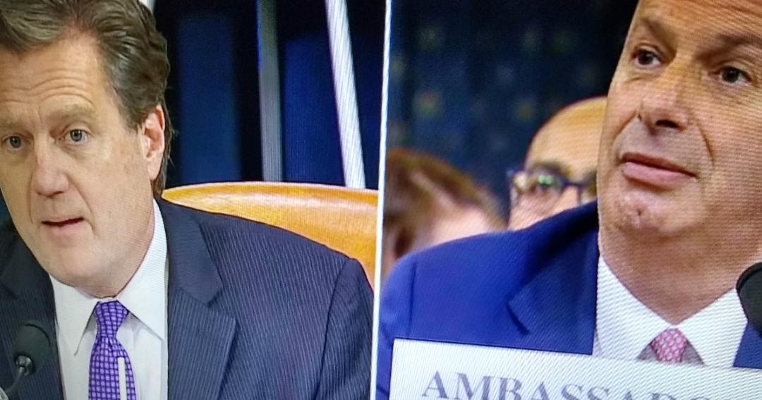 GOP Rep. Michael Turner's questioning of Amb Sondland that obliterates his credibility contradicts misinformation put out by Adam Schiff and the corrupt media