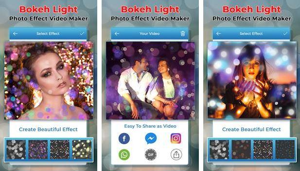 Aplikasi Bokeh China Bokeh Light Photo Effect