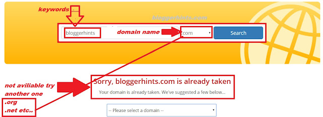Good Domain Name Picking Tips for Your Blog Setup