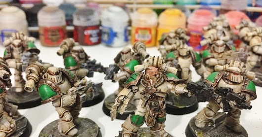 "Death Guard Horus Heresy 30k Project: Part 1 ""What Paint Scheme?"""