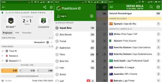 FlashScore Indonesia