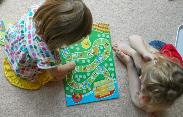Count Your Chickens Game for Bird Theme Homeschool Preschool Unit