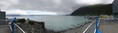 Panoramic Shot of Resurrection Bay