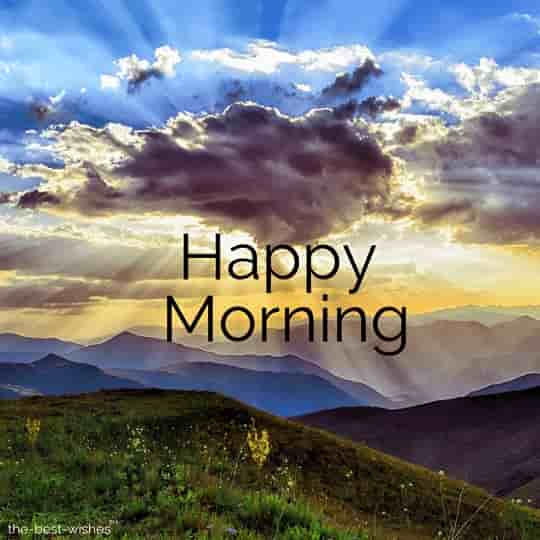 images of good morning nature