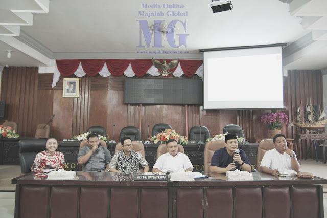 Bapemperda DPRD Kota Mojokerto Rakor Penyusunan Perda Inisiatif
