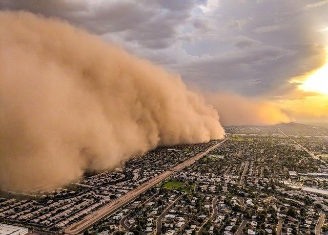 杜拜沙尘暴