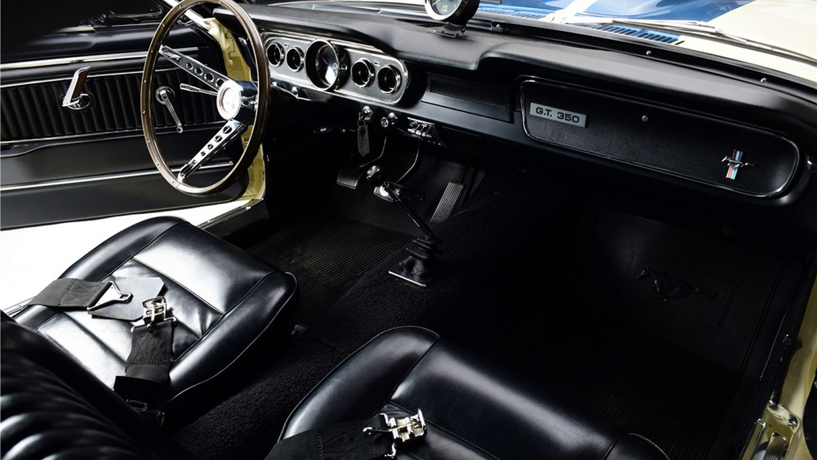 First 1966 Shelby Gt350 Prototype Bound For Auction