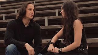 Η Marta Gabriel και ο Todd Michael Hall