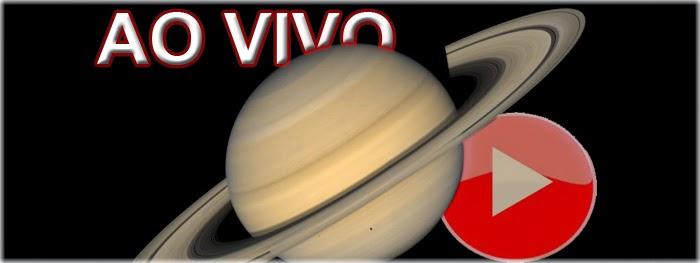 Saturno ao vivo máxima aproximação mais brilhante