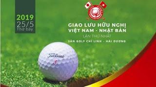 Giải đấu golf hữu nghị Việt Nam-Nhật Bản khởi động tại Hải Dương