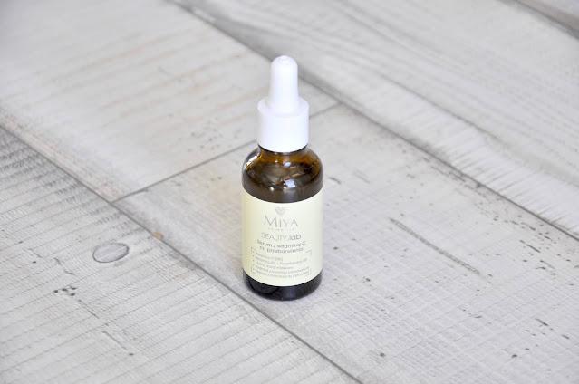 serum z witaminą c miya cosmetics beauty.lab na przebarwienia