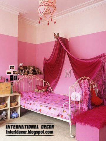 Canopy beds for girls room - Top designs and ideas