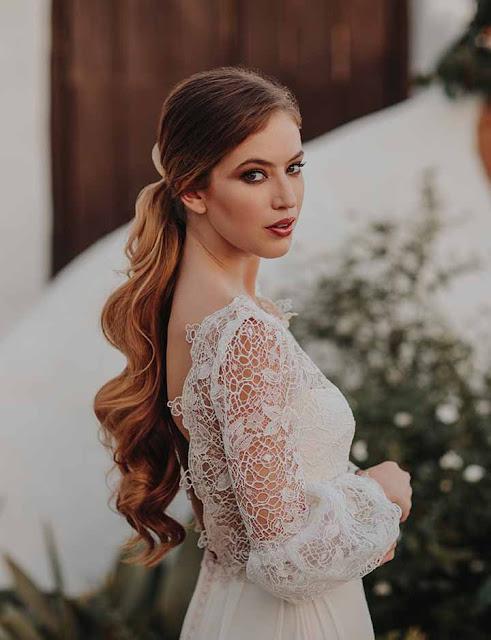 peinados novias 2020 coletas