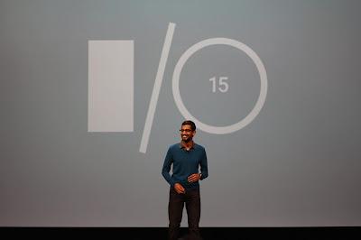 Sundar Pichai at Google I/O 2015