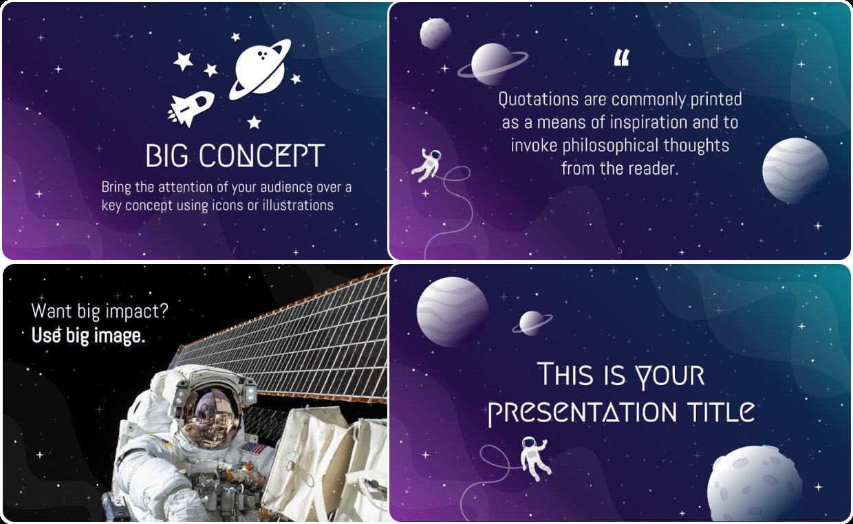 Galaxy Presentation Template