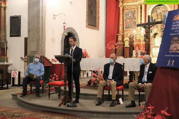 Mariano H. Zapata resalta la importancia de la Orden Tercera en la historia de La Palma