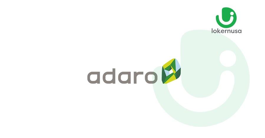 Lowongan Kerja Adaro Group