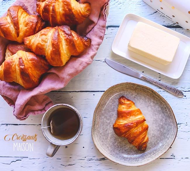 croissants recette facile