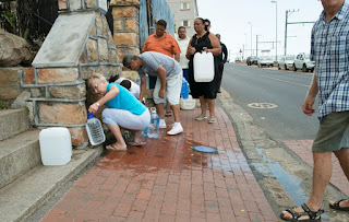 Drought-hit Cape Town