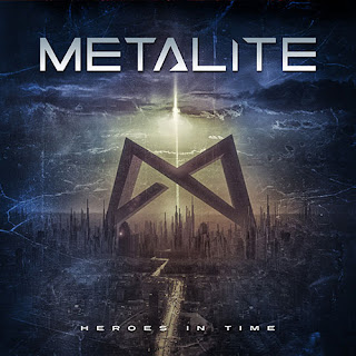 "Metalite - ""Nightmare"" (lyric video) from album ""Heroes In Time"""
