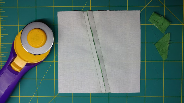 Trim the quilt block