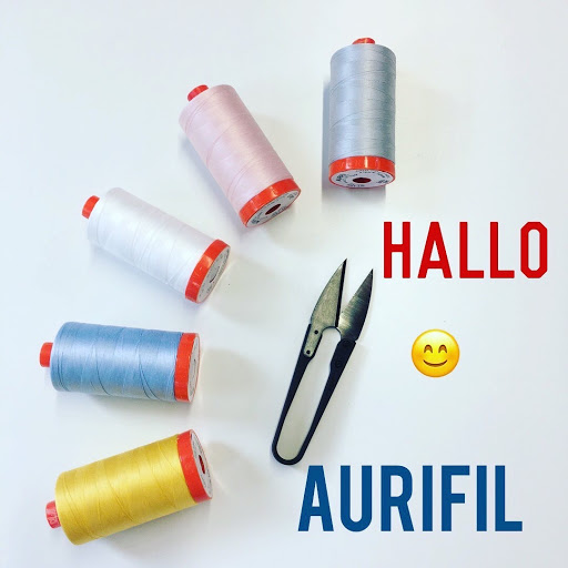 Aurifil Garn- einfach bunt quilts