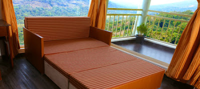 Extra bed facility available at The Wind Munnar - premium luxury resort/hotel at Munnar