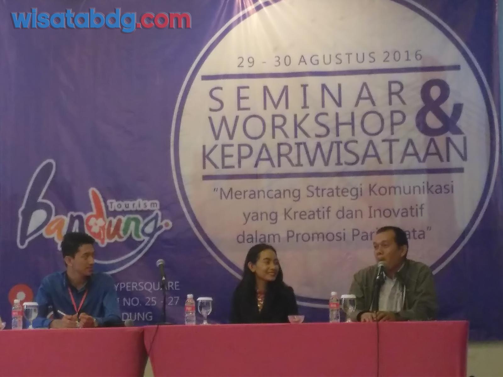Seminar dan workshop Moka Bandung Fave Hotel