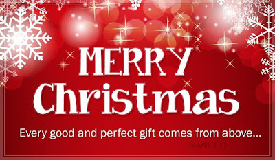 Merry Christmas Wishes, Greeting Card Image 1