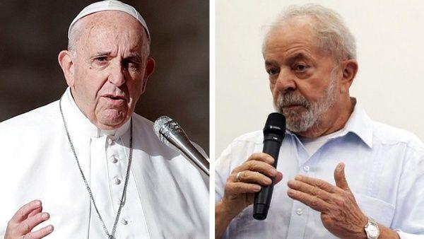 Expresidente Lula da Silva visitará al Papa Francisco en Roma