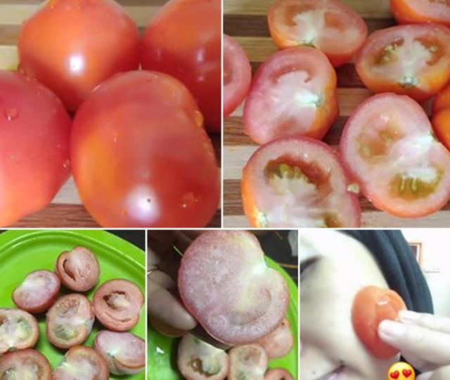 Cara Cepat Kecutkan Jerawat Guna Tomato Beku