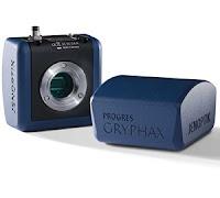 Jenoptik backlit CMOS sensor microscopy cameras.