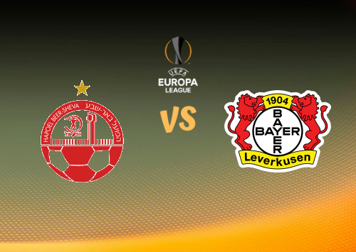 Hapoel Be'er Sheva vs Bayer Leverkusen  Resumen