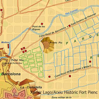 Mapa Fuerte Pio