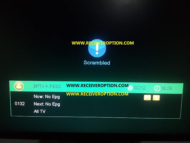 SUPER LAZER X-9 AC/DC HD RECEIVER BISS KEY OPTION