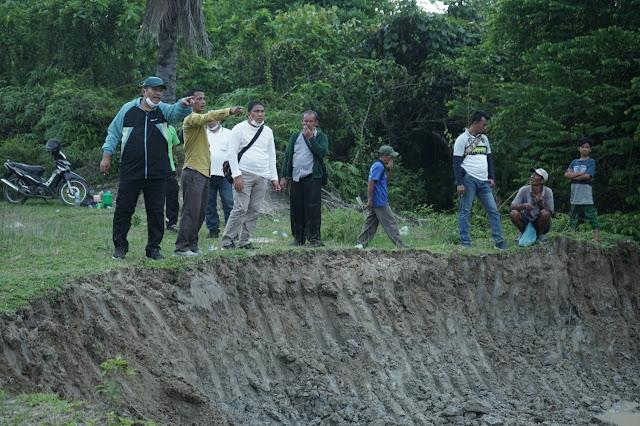Dinas PUPR Asahan Perbaiki Tanggul Yang Jebol dan Normalisasi Sungai di Dua  Kecamatan