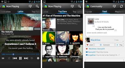 10 Pemutar Musik Terbaik Android Edisi Interface